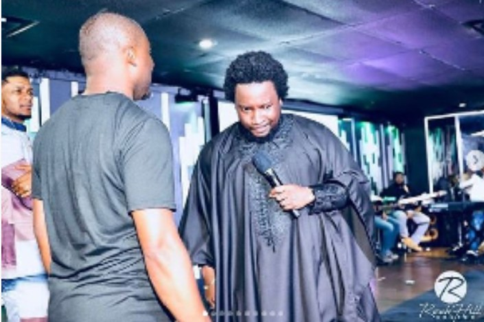 Breaking News: Sonnie Badu arrested in UK for holding a gun.