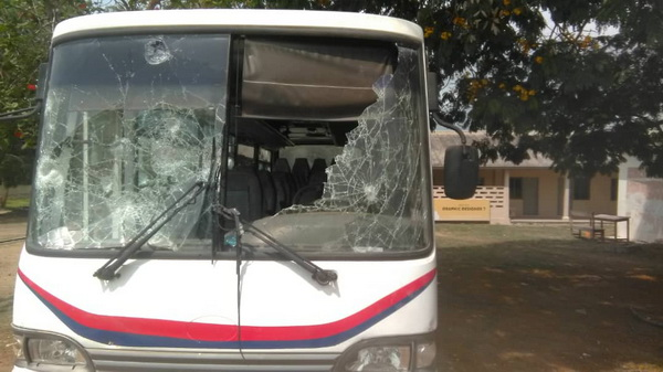 Breaking News: UEW closed down following violent demonstration by students