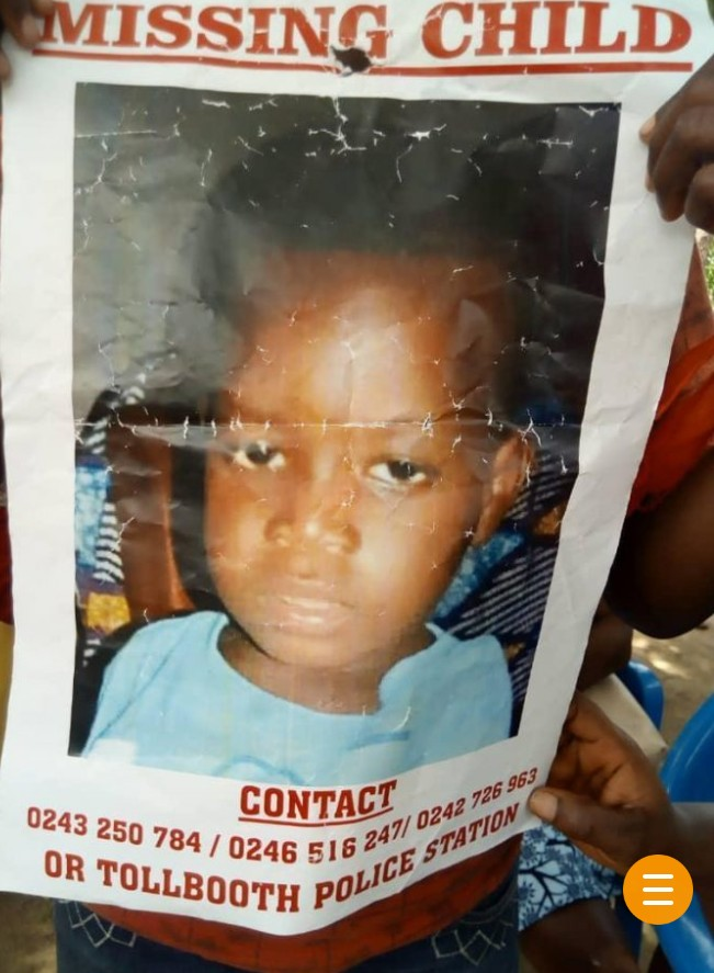 Just in: Boy, 2, kidnapped and killed by 'Nigerians' at Kasoa, mother in coma (Video)