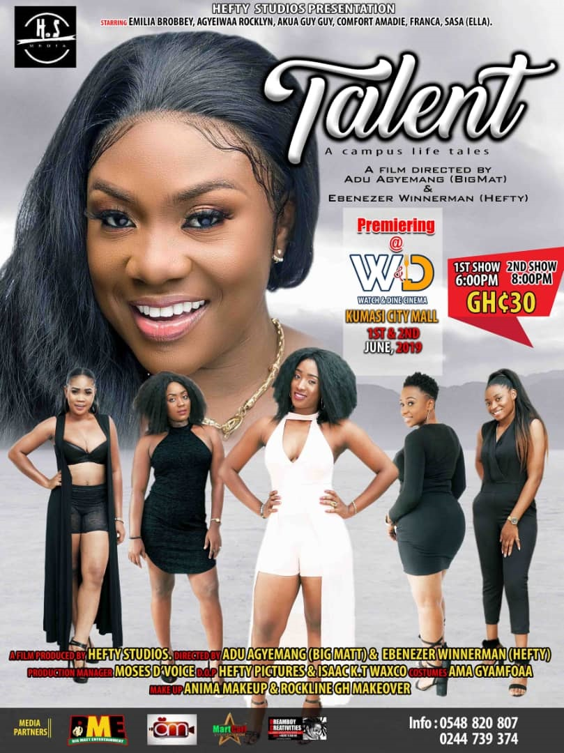 'Talent' movie to be premiered 1st & 2nd June'19