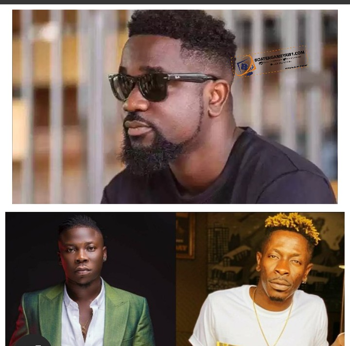 Stonebwoy Is A Dancehall Messi- Sarkodie Proclaims